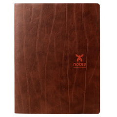Brepols Moose Notebook Brown Recycled Leather Ruled A5