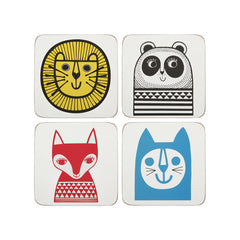 Jane Foster Set Of Four Coasters