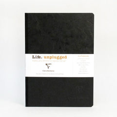 Clairefontaine Notebook - Essentials - Clothbound - A5 - Ruled - Black