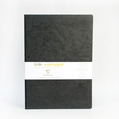 Clairefontaine Notebook - Essentials - Clothbound - A5 - Plain - Black