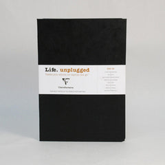 Clairefontaine Notebook - Essentials Duo - Pack of 2 - A5 - Ruled Black