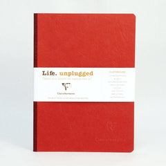 Clairefontaine Notebook - Essentials - Clothbound - A5 - Ruled - Red