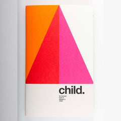 "Ogami Quotes Notebook - Plain - Small - ""Child."""