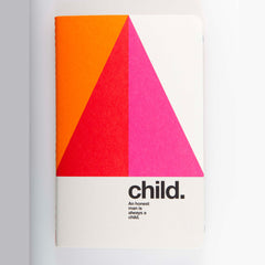 "Ogami Quotes Notebook - Ruled - Mini - ""Child."""