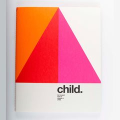 "Ogami Quotes Notebook - Plain - Regular - ""Child"""