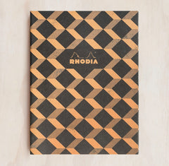 Rhodia - Heritage Notebook - Sewn Spine - Ruled - A5 - Escher Black