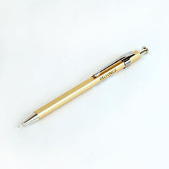 Delfonics Wooden Ball Point Pen - Mini - Gold