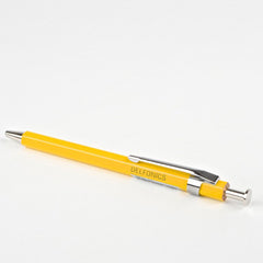 Delfonics Wooden Ball Point Pen - Mini - Yellow