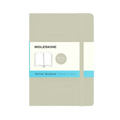 Moleskine Classic Notebook - Dot Grid - Pocket - Softcover - Khaki