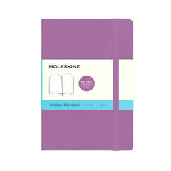 Moleskine Classic Notebook - Dot Grid - Pocket - Softcover - Orchid Purple