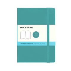 Moleskine Classic Notebook - Dot Grid - Pocket - Softcover - Underwater Blue