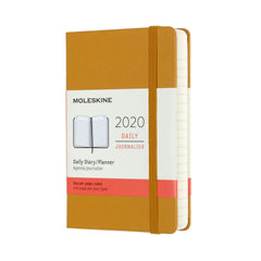 Moleskine - 2020 Hard Cover Diary - Daily - Pocket (9x14cm) - Ripe Yellow