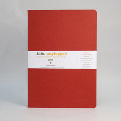 Clairefontaine Notebook - Essentials Duo - Pack of 2 - A4 - Red