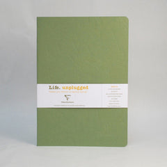 Clairefontaine Notebook - Essentials Duo - Pack of 2 - A4 - Ruled Green