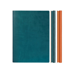 Daycraft Signature Duo Notebook - A5 - Green/Orange