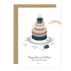 All The Ways To say - Card - Happy Young Birthday