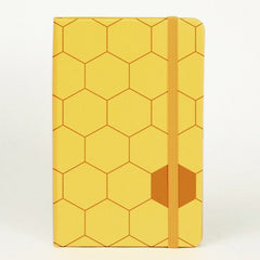 Moleskine Patterned Notebook - Ruled - Pocket - Hardcover - Honeycomb
