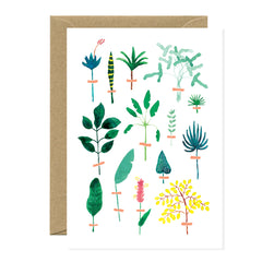 All The Ways To say - Card - Plant - Herbier Exotique