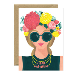 All The Ways To say - Card - Hippie Birthday