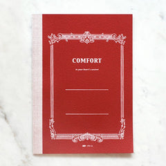 Life Stationery - Comfort Notebook Large B5 - Ruled