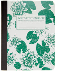 Decomposition - Notebook - Large  - Ruled - Lily Pads