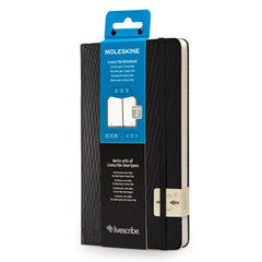 Moleskine - Livescribe Notebook #2 - Large - Ruled - Black