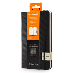 Moleskine - Livescribe Notebook #1 - Large - Ruled - Black