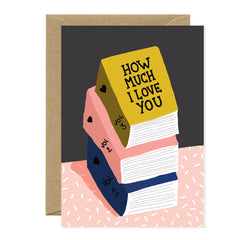 All The Ways To say - Card - Love Books