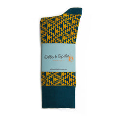 Otto & Spike Socks - Mad Mouse Bottle Mustard