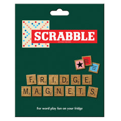 Scrabble Fridge Magnet Set
