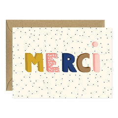 All The Ways To say - Card - Merci