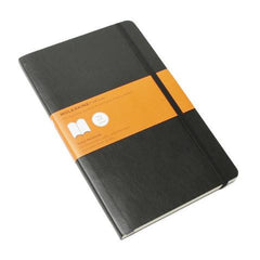 Moleskine Classic Notebook - Ruled - Large - Softcover - Black