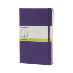 Moleskine Classic Notebook - Plain - Pocket - Hardcover - Brilliant Violet