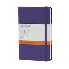 Moleskine Classic Notebook - Ruled - Pocket - Hardcover - Brilliant Violet