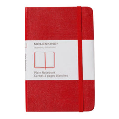 Moleskine Classic Notebook - Plain - Pocket - Hardcover - Red
