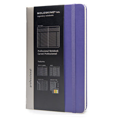 Moleskine Professional Notebook - Large - Violet