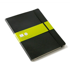 Moleskine Classic Notebook - Plain - Extra Large - Softcover - Black