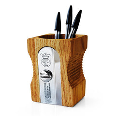 Suck UK - Sharpener Desk Tidy - Pencil Holder - Natural