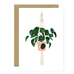 All The Ways To say - Card - Plant - Pilea