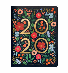 Rifle Paper Co - 2020 Diary - Wild Rose - Monthly Agenda - Large