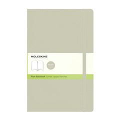 Moleskine Classic Notebook - Plain - Large - Softcover - Khaki