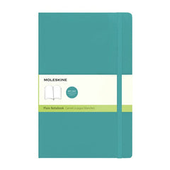 Moleskine Classic Notebook - Plain - Large - Softcover - Underwater Blue