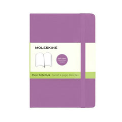 Moleskine Classic Notebook - Plain - Pocket - Softcover - Orchid Purple