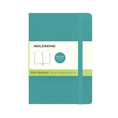Moleskine Classic Notebook - Plain - Pocket - Softcover - Underwater Blue