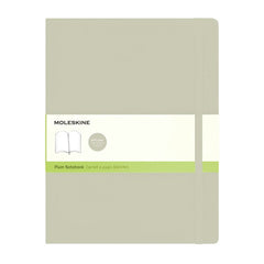 Moleskine Classic Notebook - Plain - Extra Large - Softcover - Khaki