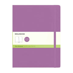 Moleskine Classic Notebook - Plain - Extra Large - Softcover - Orchid Purple
