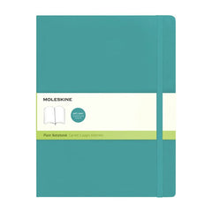 Moleskine Classic Notebook - Plain - Extra Large - Softcover - Underwater Blue