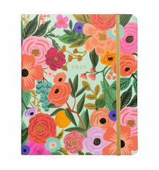 Rifle Paper Co - 2020 - 17 Month Planner - Weekly + Monthly - Large - Garden Party