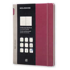 Moleskine - Professional Notebook -  Extra Large - Hard Cover - Plum Purple