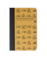 Decomposition Notebook - Vintage Bicycles - Pocket - Ruled
